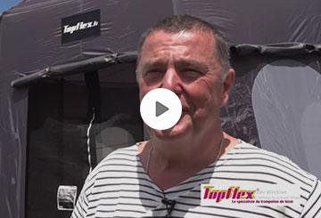interview Client TopFlex Trampolines